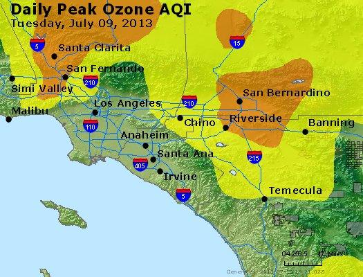 Peak Ozone (8-hour) - http://files.airnowtech.org/airnow/2013/20130709/peak_o3_losangeles_ca.jpg