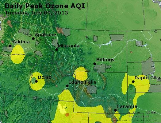 Peak Ozone (8-hour) - http://files.airnowtech.org/airnow/2013/20130709/peak_o3_mt_id_wy.jpg