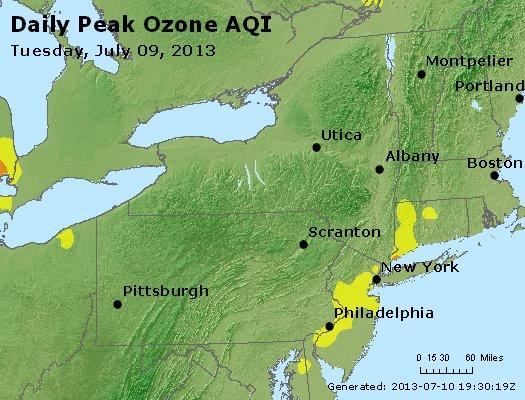 Peak Ozone (8-hour) - http://files.airnowtech.org/airnow/2013/20130709/peak_o3_ny_pa_nj.jpg