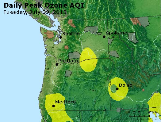 Peak Ozone (8-hour) - http://files.airnowtech.org/airnow/2013/20130709/peak_o3_wa_or.jpg