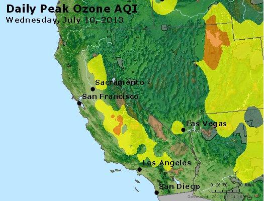 Peak Ozone (8-hour) - http://files.airnowtech.org/airnow/2013/20130710/peak_o3_ca_nv.jpg