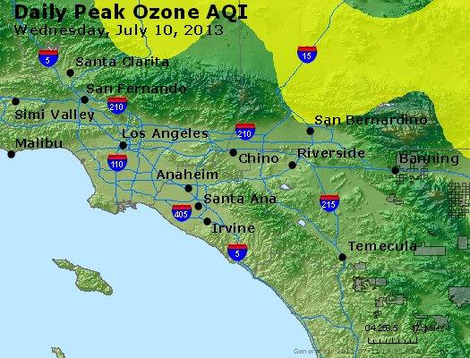 Peak Ozone (8-hour) - http://files.airnowtech.org/airnow/2013/20130710/peak_o3_losangeles_ca.jpg