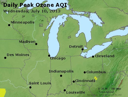 Peak Ozone (8-hour) - http://files.airnowtech.org/airnow/2013/20130710/peak_o3_mi_in_oh.jpg