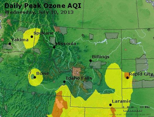 Peak Ozone (8-hour) - http://files.airnowtech.org/airnow/2013/20130710/peak_o3_mt_id_wy.jpg