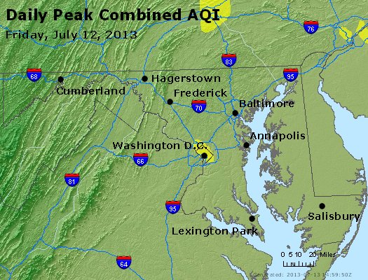 Peak AQI - http://files.airnowtech.org/airnow/2013/20130712/peak_aqi_maryland.jpg