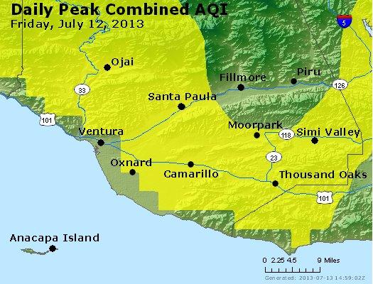 Peak AQI - http://files.airnowtech.org/airnow/2013/20130712/peak_aqi_ventura.jpg