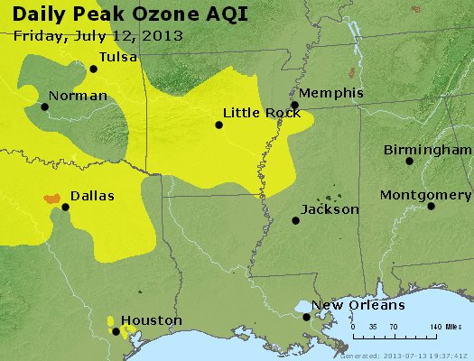 Peak Ozone (8-hour) - http://files.airnowtech.org/airnow/2013/20130712/peak_o3_ar_la_ms.jpg