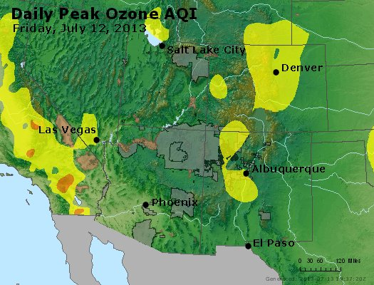 Peak Ozone (8-hour) - http://files.airnowtech.org/airnow/2013/20130712/peak_o3_co_ut_az_nm.jpg