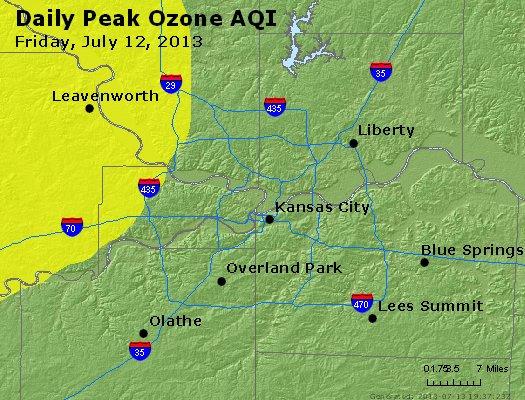 Peak Ozone (8-hour) - http://files.airnowtech.org/airnow/2013/20130712/peak_o3_kansascity_mo.jpg