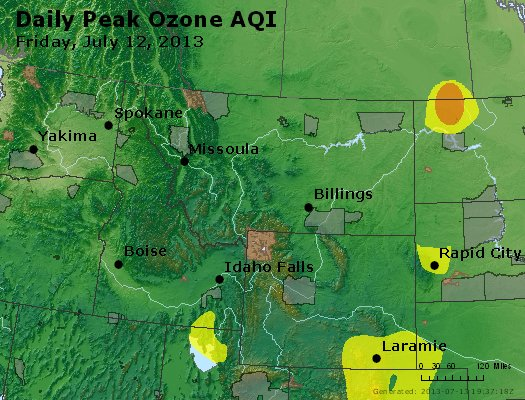 Peak Ozone (8-hour) - http://files.airnowtech.org/airnow/2013/20130712/peak_o3_mt_id_wy.jpg