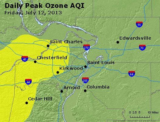 Peak Ozone (8-hour) - http://files.airnowtech.org/airnow/2013/20130712/peak_o3_stlouis_mo.jpg