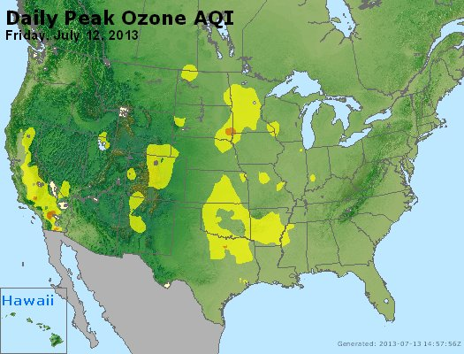 Peak Ozone (8-hour) - http://files.airnowtech.org/airnow/2013/20130712/peak_o3_usa.jpg
