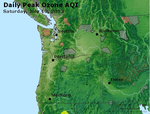 Peak Ozone (8-hour) - http://files.airnowtech.org/airnow/2013/20130713/peak_o3_wa_or.jpg