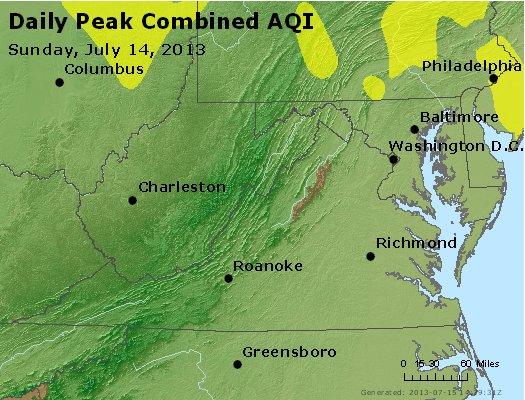 Peak AQI - http://files.airnowtech.org/airnow/2013/20130714/peak_aqi_va_wv_md_de_dc.jpg