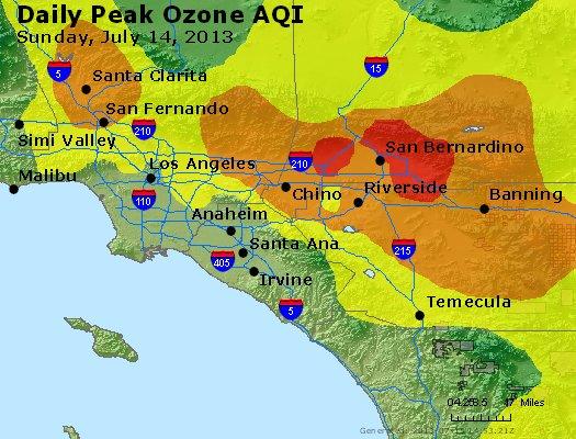 Peak Ozone (8-hour) - http://files.airnowtech.org/airnow/2013/20130714/peak_o3_losangeles_ca.jpg