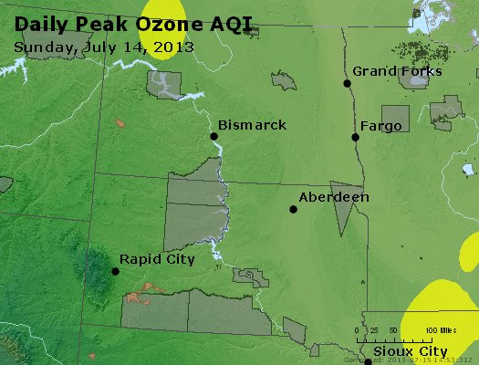 Peak Ozone (8-hour) - http://files.airnowtech.org/airnow/2013/20130714/peak_o3_nd_sd.jpg