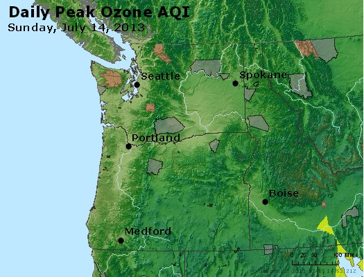 Peak Ozone (8-hour) - http://files.airnowtech.org/airnow/2013/20130714/peak_o3_wa_or.jpg