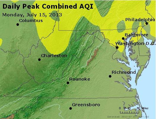 Peak AQI - http://files.airnowtech.org/airnow/2013/20130715/peak_aqi_va_wv_md_de_dc.jpg