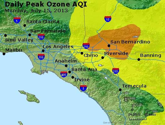 Peak Ozone (8-hour) - http://files.airnowtech.org/airnow/2013/20130715/peak_o3_losangeles_ca.jpg