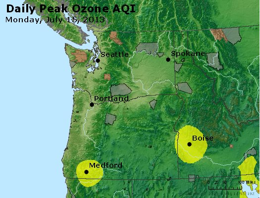 Peak Ozone (8-hour) - http://files.airnowtech.org/airnow/2013/20130715/peak_o3_wa_or.jpg