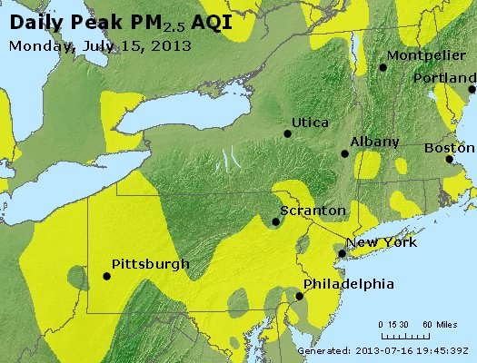 Peak Particles PM<sub>2.5</sub> (24-hour) - http://files.airnowtech.org/airnow/2013/20130715/peak_pm25_ny_pa_nj.jpg