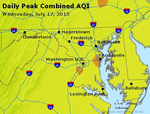 Peak AQI - http://files.airnowtech.org/airnow/2013/20130717/peak_aqi_maryland.jpg