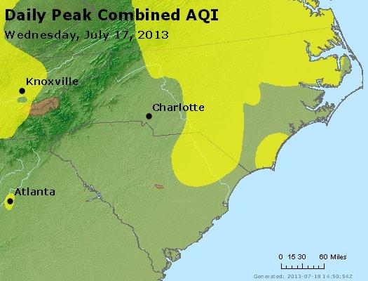 Peak AQI - http://files.airnowtech.org/airnow/2013/20130717/peak_aqi_nc_sc.jpg