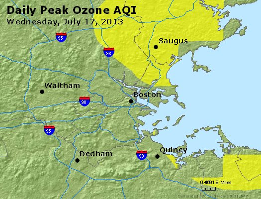 Peak Ozone (8-hour) - http://files.airnowtech.org/airnow/2013/20130717/peak_o3_boston_ma.jpg