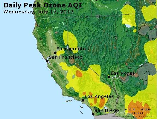 Peak Ozone (8-hour) - http://files.airnowtech.org/airnow/2013/20130717/peak_o3_ca_nv.jpg