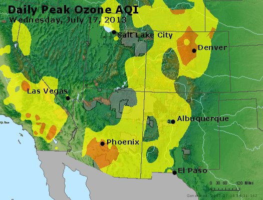Peak Ozone (8-hour) - http://files.airnowtech.org/airnow/2013/20130717/peak_o3_co_ut_az_nm.jpg