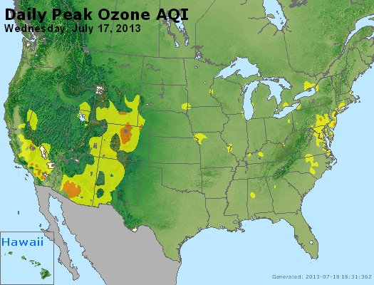 Peak Ozone (8-hour) - http://files.airnowtech.org/airnow/2013/20130717/peak_o3_usa.jpg