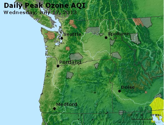Peak Ozone (8-hour) - http://files.airnowtech.org/airnow/2013/20130717/peak_o3_wa_or.jpg