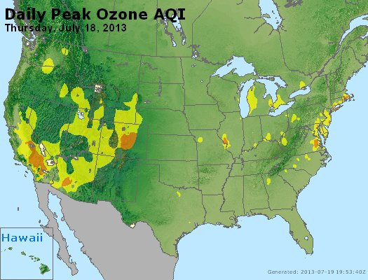Peak Ozone (8-hour) - http://files.airnowtech.org/airnow/2013/20130718/peak_o3_usa.jpg