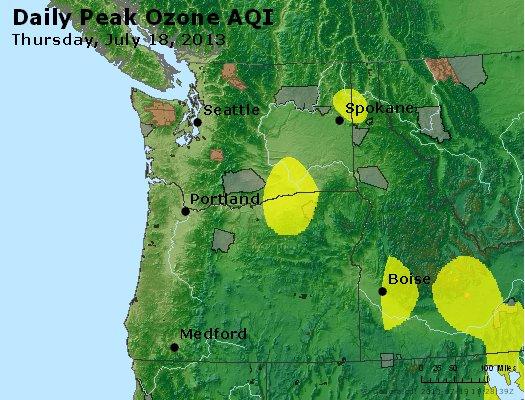 Peak Ozone (8-hour) - http://files.airnowtech.org/airnow/2013/20130718/peak_o3_wa_or.jpg