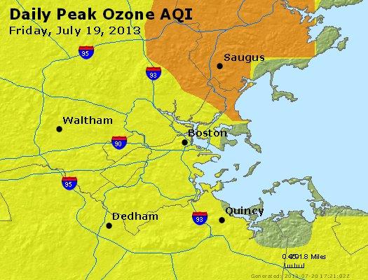 Peak Ozone (8-hour) - http://files.airnowtech.org/airnow/2013/20130719/peak_o3_boston_ma.jpg