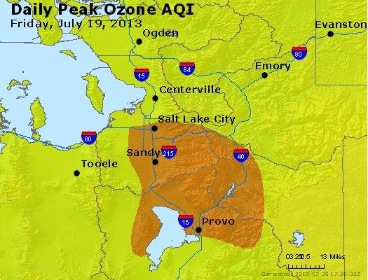 Peak Ozone (8-hour) - http://files.airnowtech.org/airnow/2013/20130719/peak_o3_saltlakecity_ut.jpg