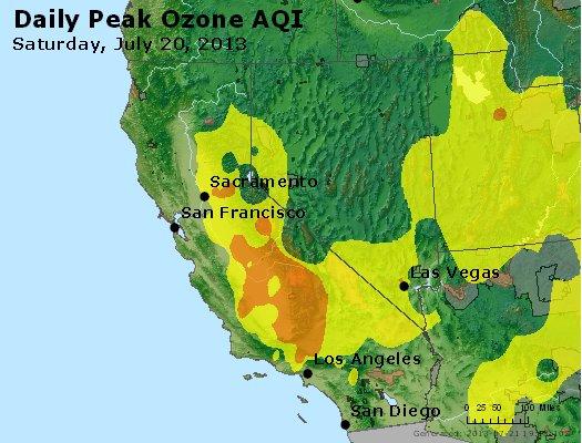 Peak Ozone (8-hour) - http://files.airnowtech.org/airnow/2013/20130720/peak_o3_ca_nv.jpg