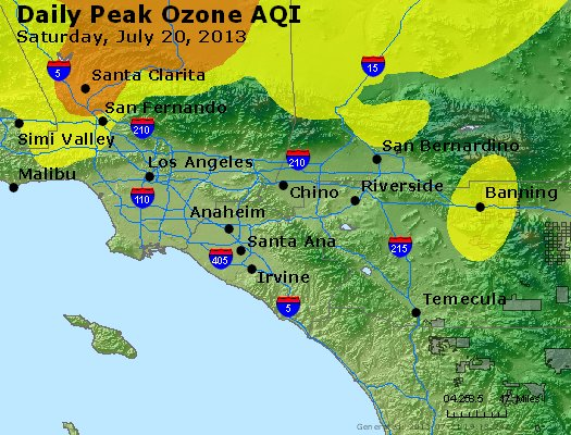 Peak Ozone (8-hour) - http://files.airnowtech.org/airnow/2013/20130720/peak_o3_losangeles_ca.jpg
