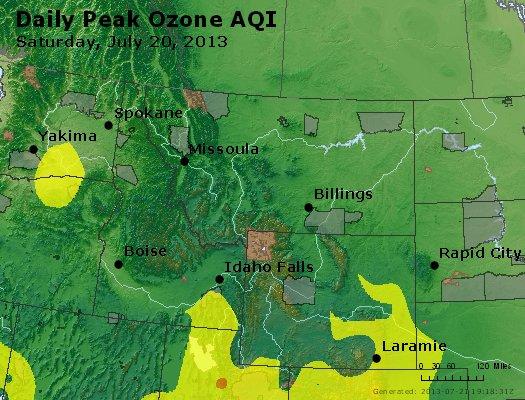 Peak Ozone (8-hour) - http://files.airnowtech.org/airnow/2013/20130720/peak_o3_mt_id_wy.jpg