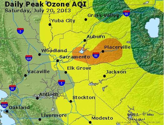 Peak Ozone (8-hour) - http://files.airnowtech.org/airnow/2013/20130720/peak_o3_sacramento_ca.jpg