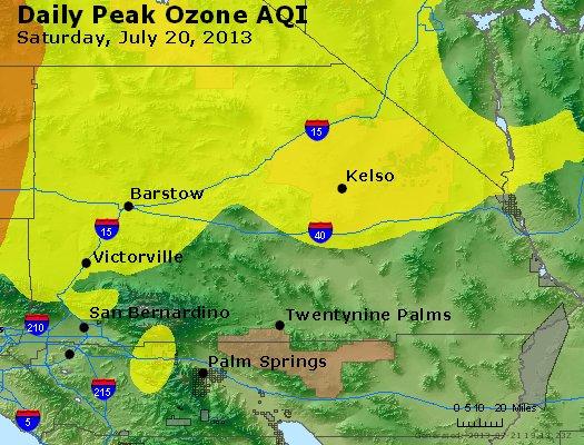 Peak Ozone (8-hour) - http://files.airnowtech.org/airnow/2013/20130720/peak_o3_sanbernardino_ca.jpg