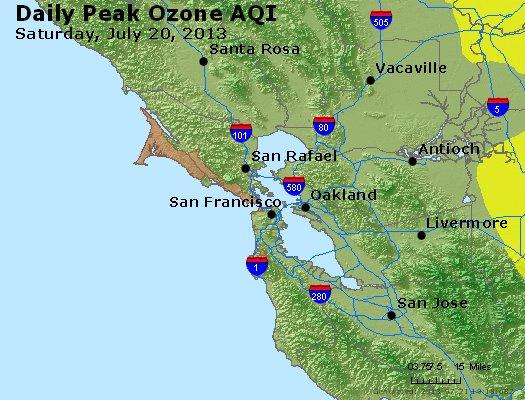Peak Ozone (8-hour) - http://files.airnowtech.org/airnow/2013/20130720/peak_o3_sanfrancisco_ca.jpg