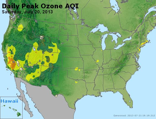 Peak Ozone (8-hour) - http://files.airnowtech.org/airnow/2013/20130720/peak_o3_usa.jpg