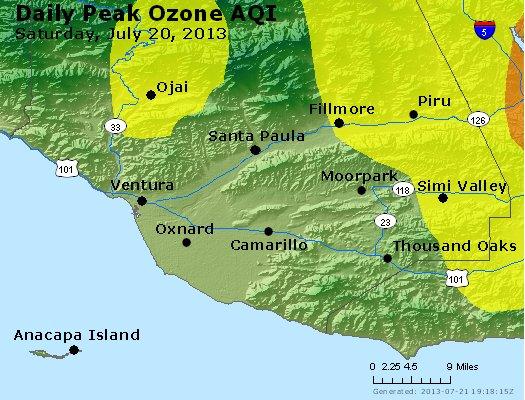 Peak Ozone (8-hour) - http://files.airnowtech.org/airnow/2013/20130720/peak_o3_ventura.jpg