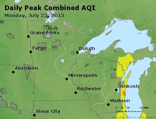 Peak AQI - http://files.airnowtech.org/airnow/2013/20130722/peak_aqi_mn_wi.jpg
