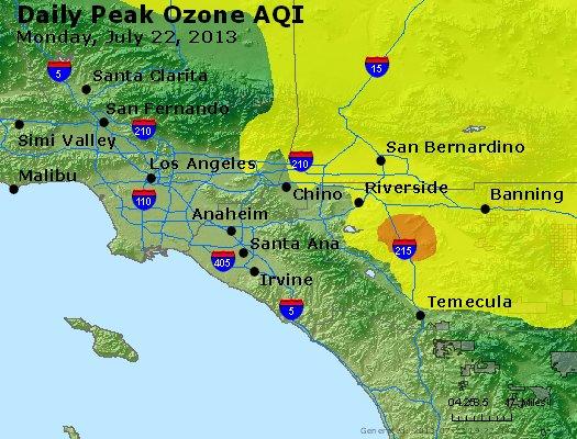 Peak Ozone (8-hour) - http://files.airnowtech.org/airnow/2013/20130722/peak_o3_losangeles_ca.jpg
