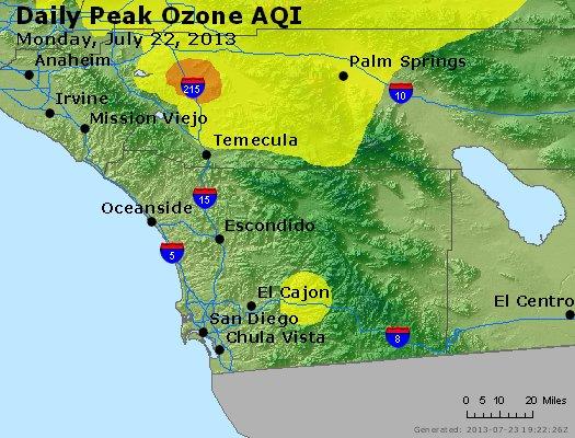 Peak Ozone (8-hour) - http://files.airnowtech.org/airnow/2013/20130722/peak_o3_sandiego_ca.jpg
