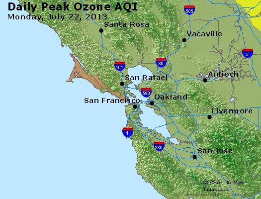 Peak Ozone (8-hour) - http://files.airnowtech.org/airnow/2013/20130722/peak_o3_sanfrancisco_ca.jpg