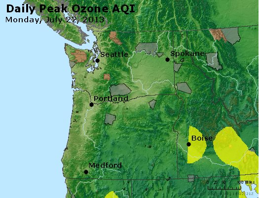 Peak Ozone (8-hour) - http://files.airnowtech.org/airnow/2013/20130722/peak_o3_wa_or.jpg