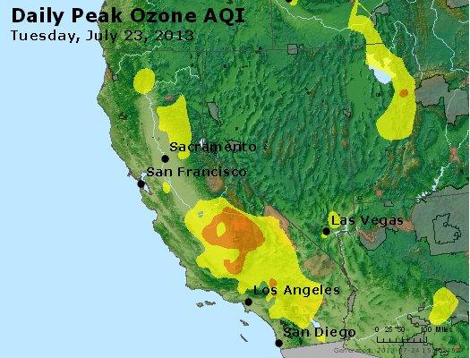 Peak Ozone (8-hour) - http://files.airnowtech.org/airnow/2013/20130723/peak_o3_ca_nv.jpg